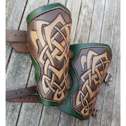 Armskenor Läder Keltisk...