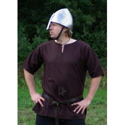 Vikinga Tunika Kort ärm - Brun