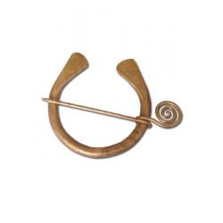 Ringfibula av brons