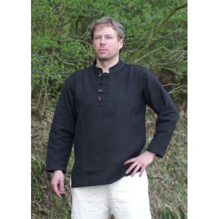 Skjorta med träknappar