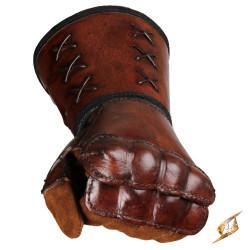 Läderhandske