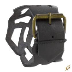 Läderarmband Filigree