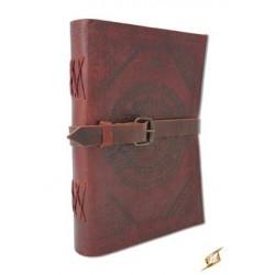 Läderbok med Spänne, stor