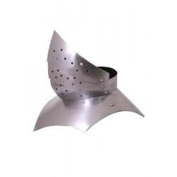 Gotisk Gorget - 1,6 mm stål