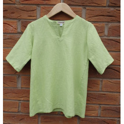 Barnkjortel lin lång