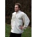 Skjorta med snörning längs ärm