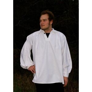 Enkel Skjorta med knäppning i kragen
