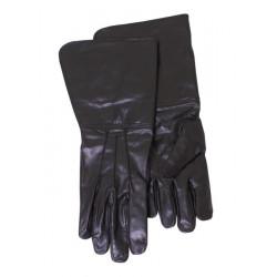 Svarta Läderhandskar