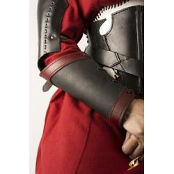 Armskenor Warrior - Läder