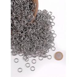 Förzinkade ringar 9 mm - 3 kg