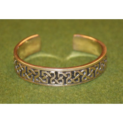 Bronsarmband Keltisk