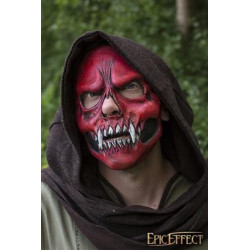 Skull Trophy Mask - Red