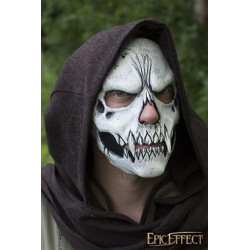 Skull Trophy Mask - White