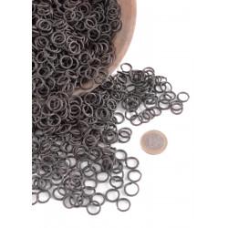 Svärtade ringar 8 mm - 1 kg